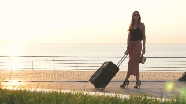 Mode Frau am Strand