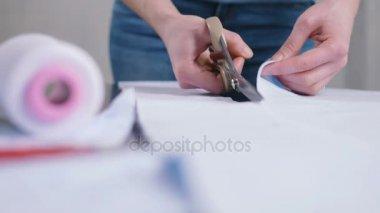 Woman fashion designer working