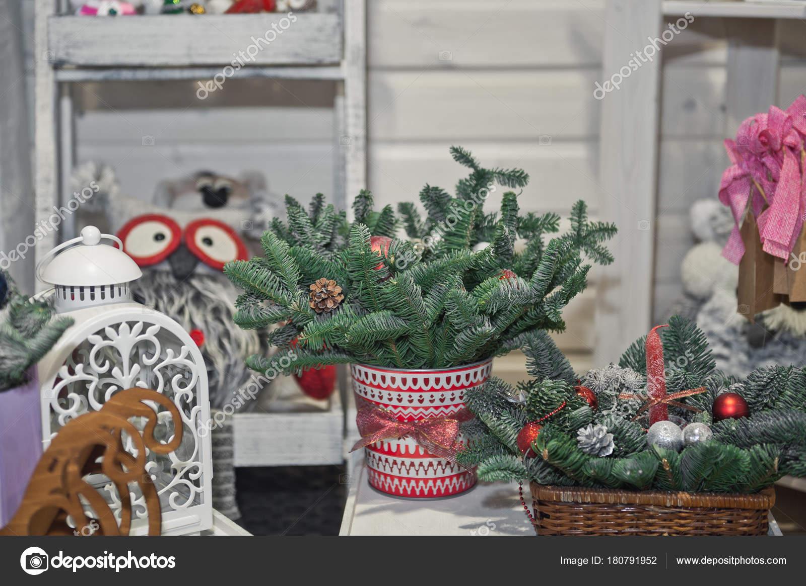 Weihnachtsbilder Kamin.Gemütliche Ecke Für Weihnachtsbilder Auf Der Mall 393 Stockfoto