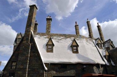 Universal Studios Resort Hogsmeade Village Rooftops