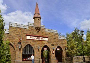 Universal Studios Resort Hogsmeade train station