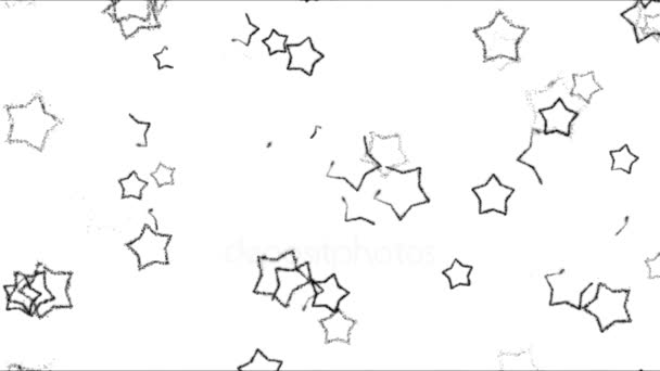 Drawing Star Shapes Background Animation