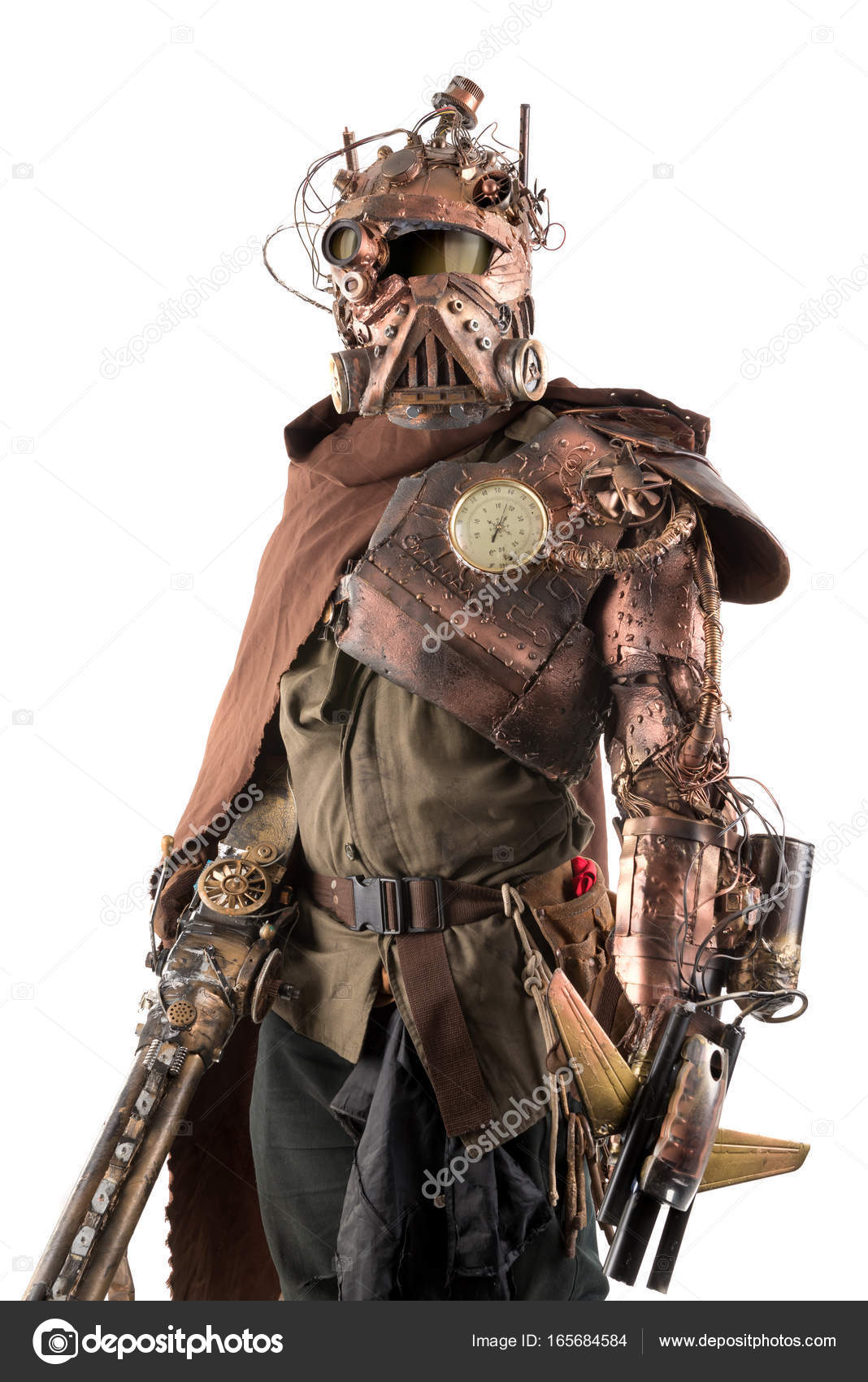 Armure Futuriste guerrier futuriste avec armure — photographie luislouro © #165684584