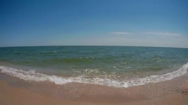 tengeri hullám, és a homokos strand