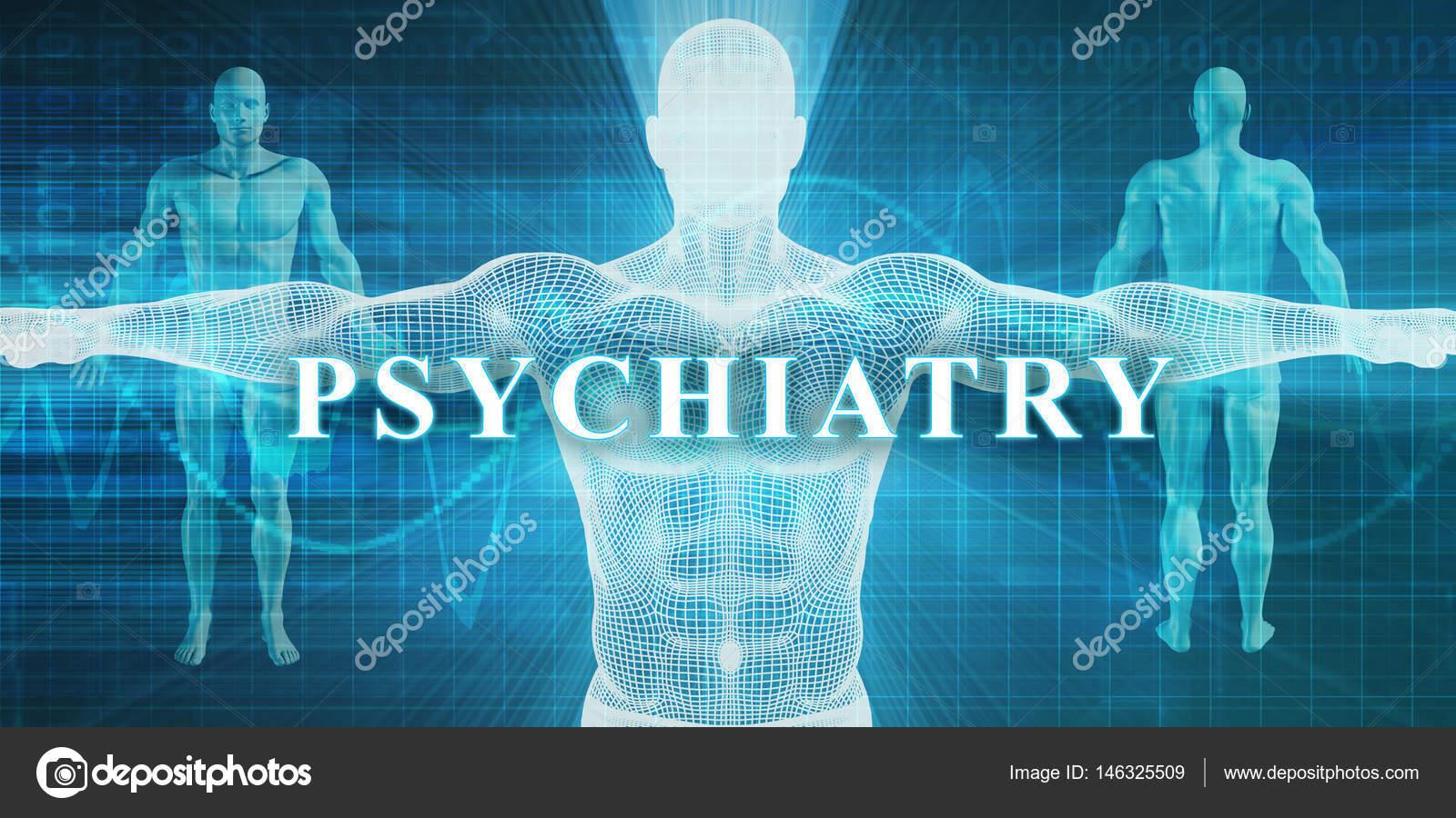 Psychiatry Concept Art Stock Photo C Kentoh 146325509