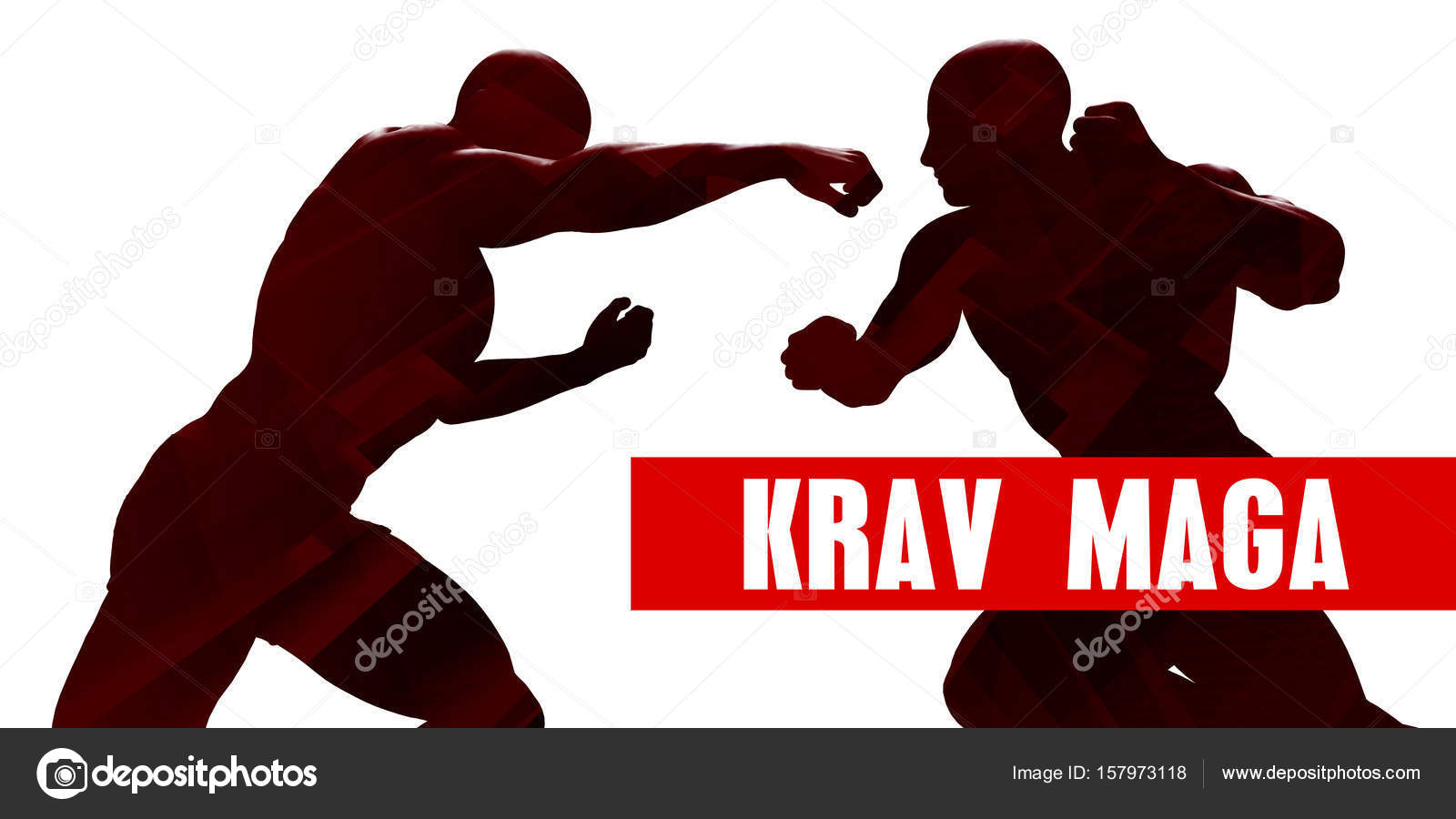 Krav Maga Concept Art Fotos De Stock Kentoh 157973118