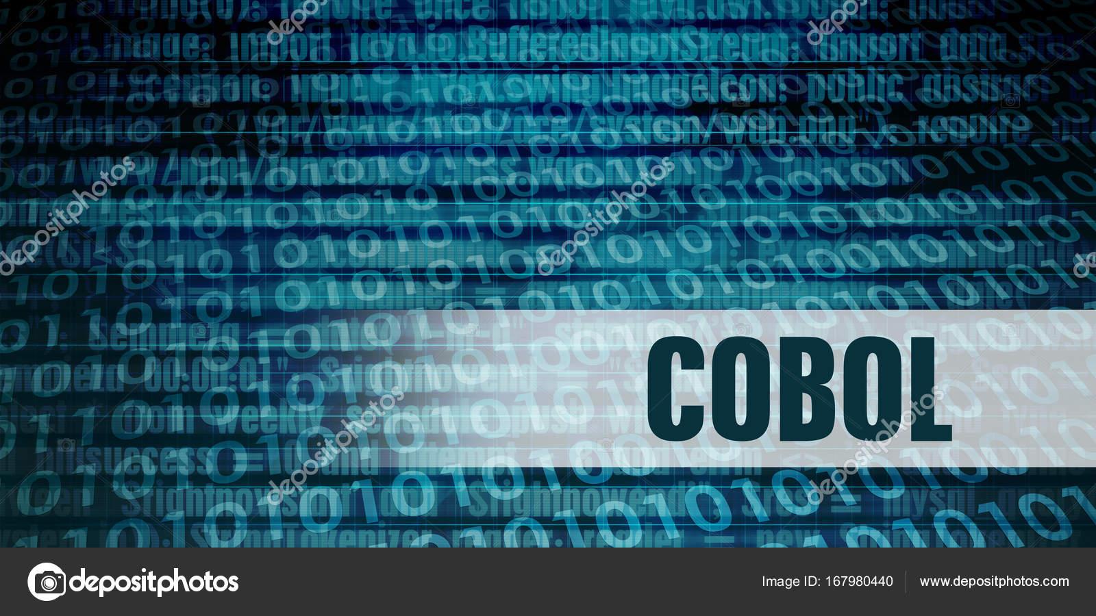 Cobol Concept Art — Stock Photo © kentoh #167980440