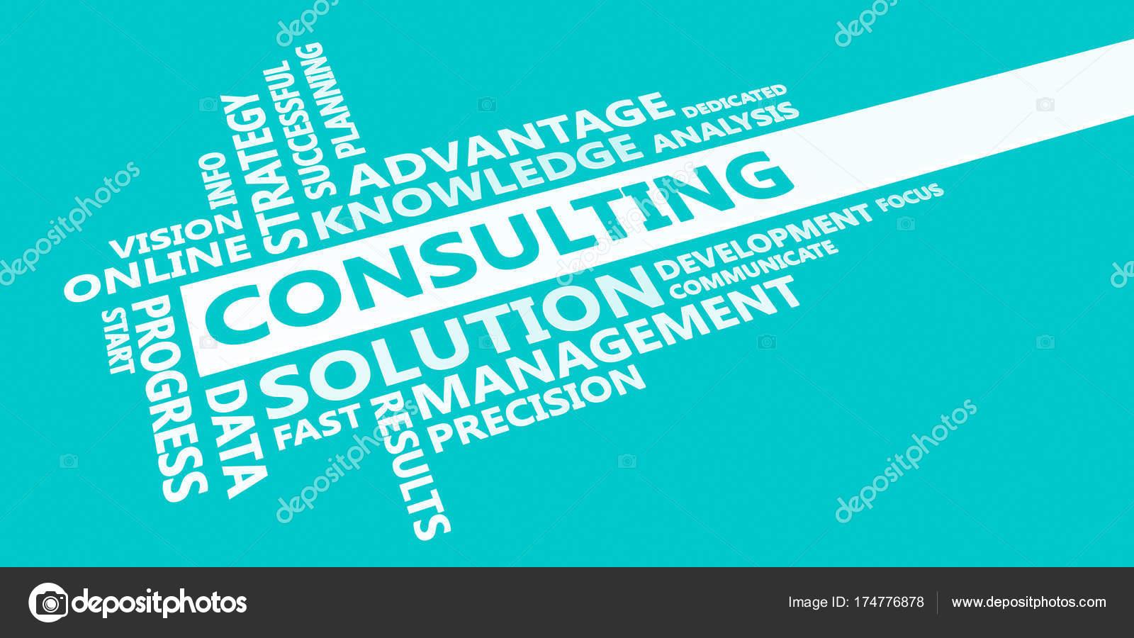Consulting Presentation Background — Stock Photo © kentoh