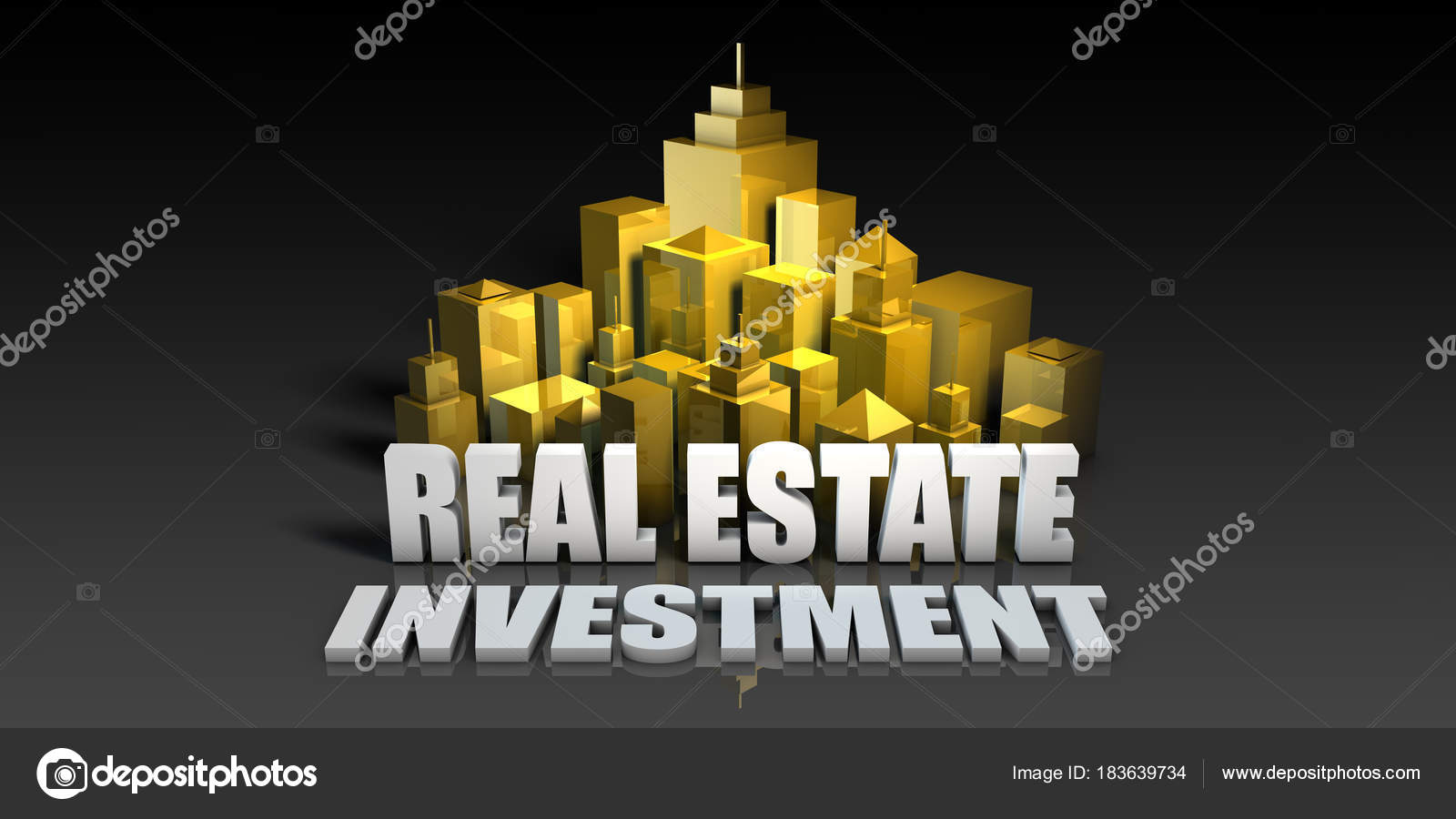 Investment Wallpaper Hd Real Estate Investment Stock Photo C Kentoh 183639734