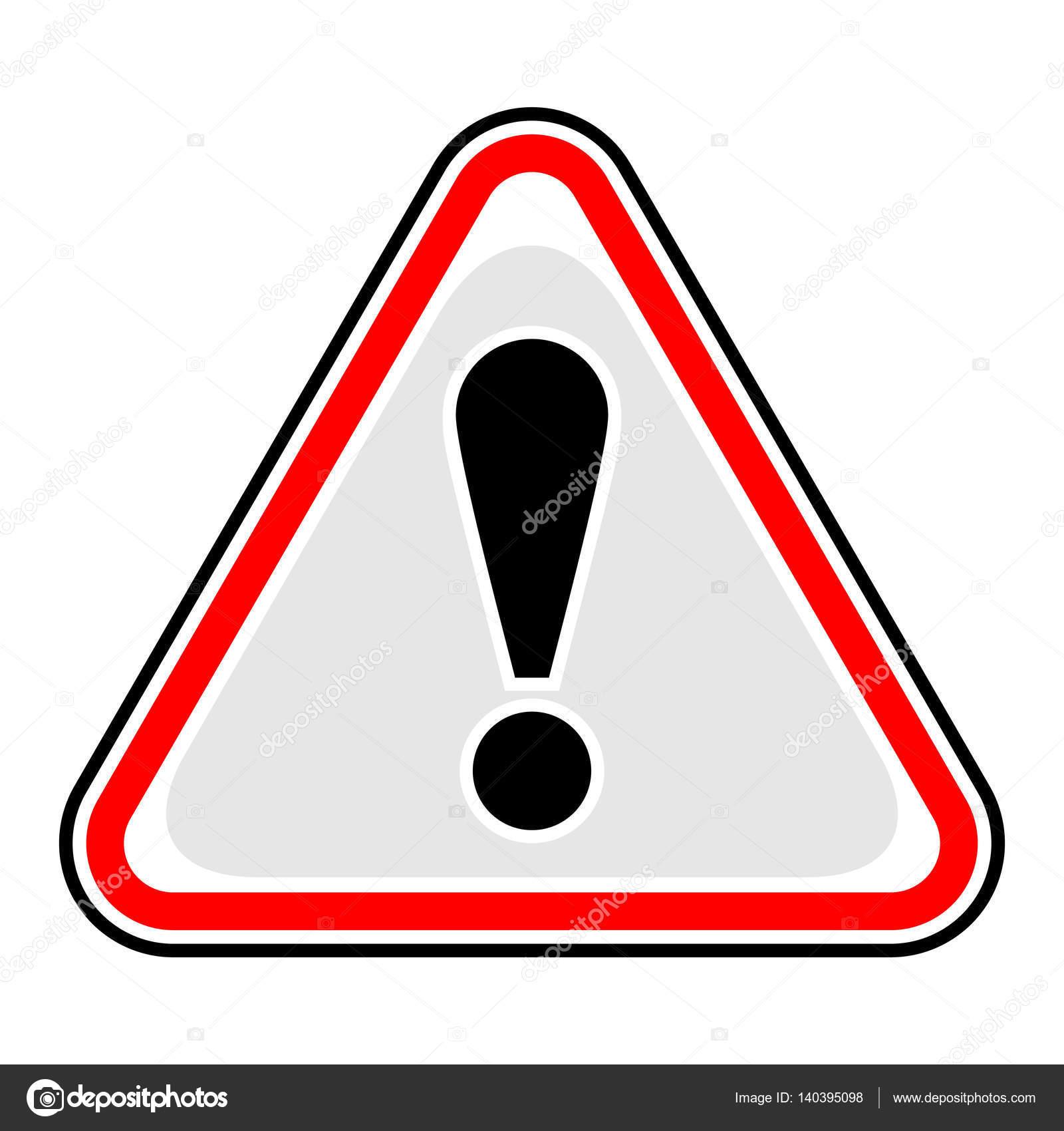d exclamation point avertissement attention danger signe image vectorielle ifeelgood 140395098. Black Bedroom Furniture Sets. Home Design Ideas