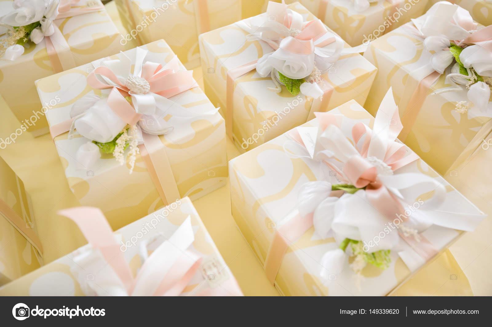 Hochzeitsbevorzugungen Fur Gast Stockfoto C Elitravo 149339620