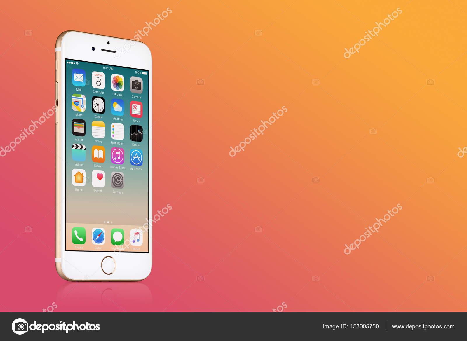 Fotografie Sfondi Oro Rosa Iphone Iphone Apple Oro 7 Con Ios 10