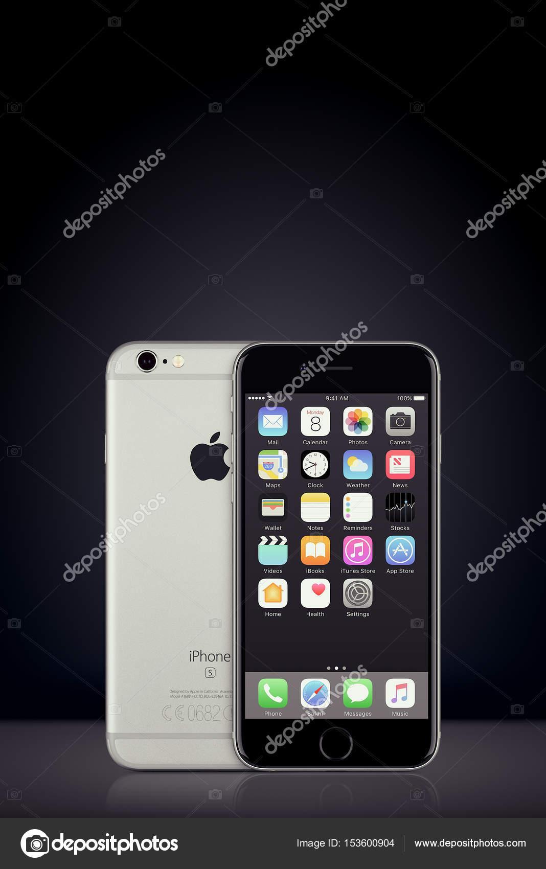 Spazio Grigio Apple Iphone 7 Con Ios 10 Sullo Schermo Su Priorità