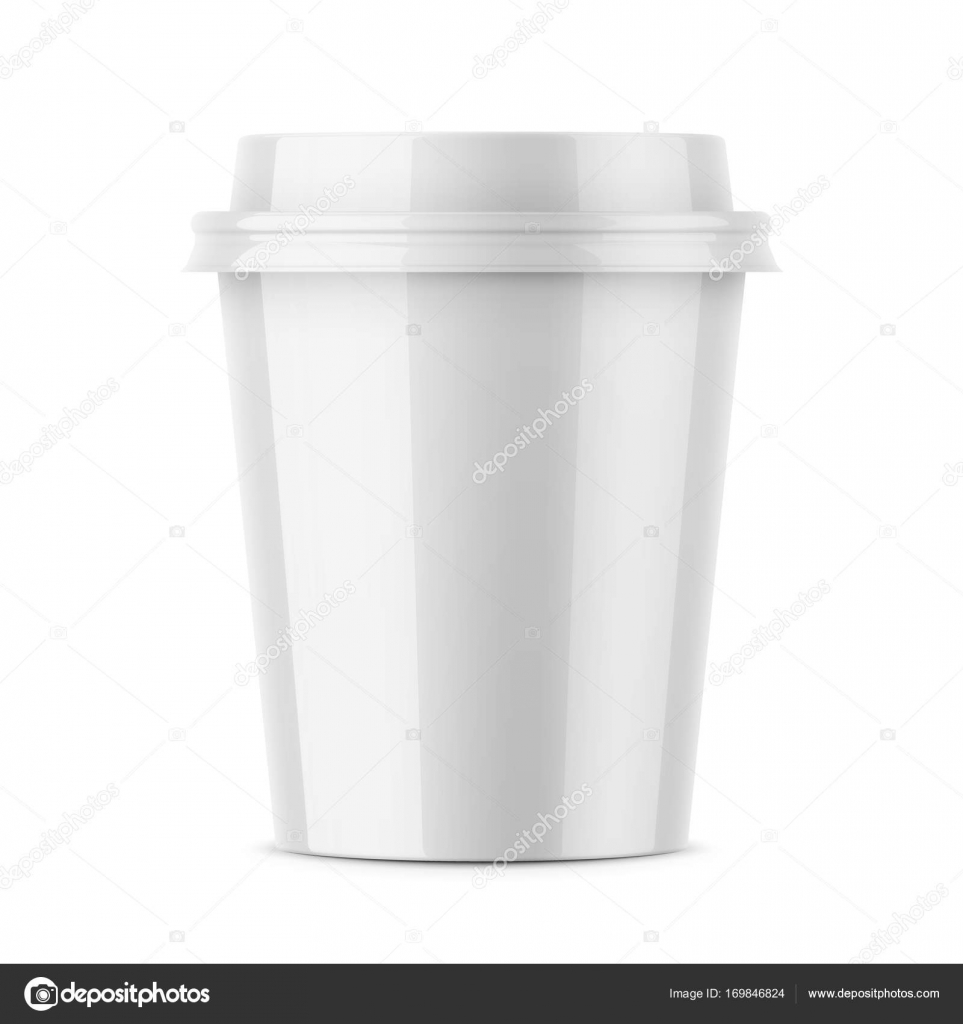white glossy coffee cup template stock vector gruffi 169846824