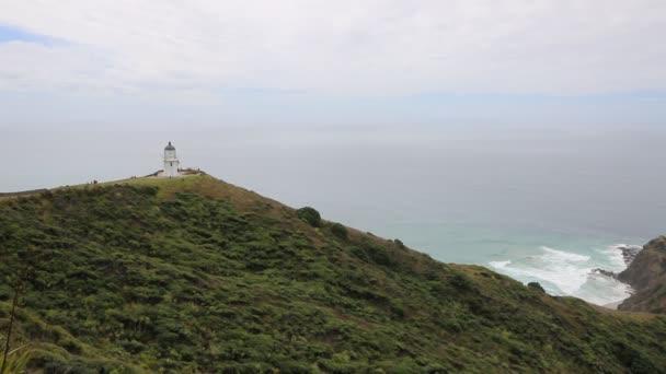 Cape Reinga maják - Severní ostrov, Nový Zéland