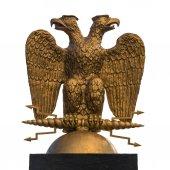 Fotografie headed eagle symbol of Russia