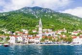 Perast město v Černé hoře