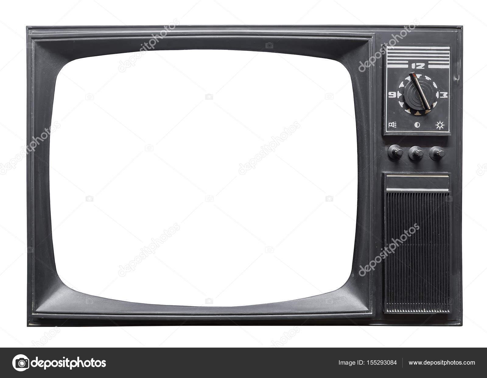 Alten Retro-Fernseher — Stockfoto © deb-37 #155293084