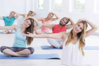 Picture of pilates class