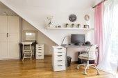 Fotografie Modern home office area