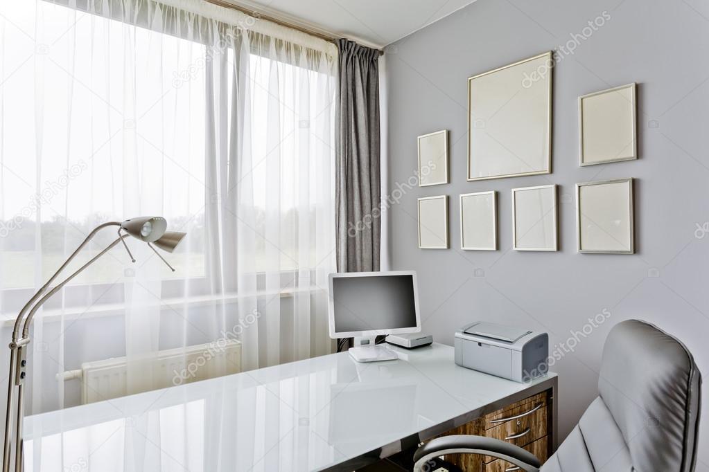 Kantoor aan huis in luxe stijl u stockfoto photographee eu