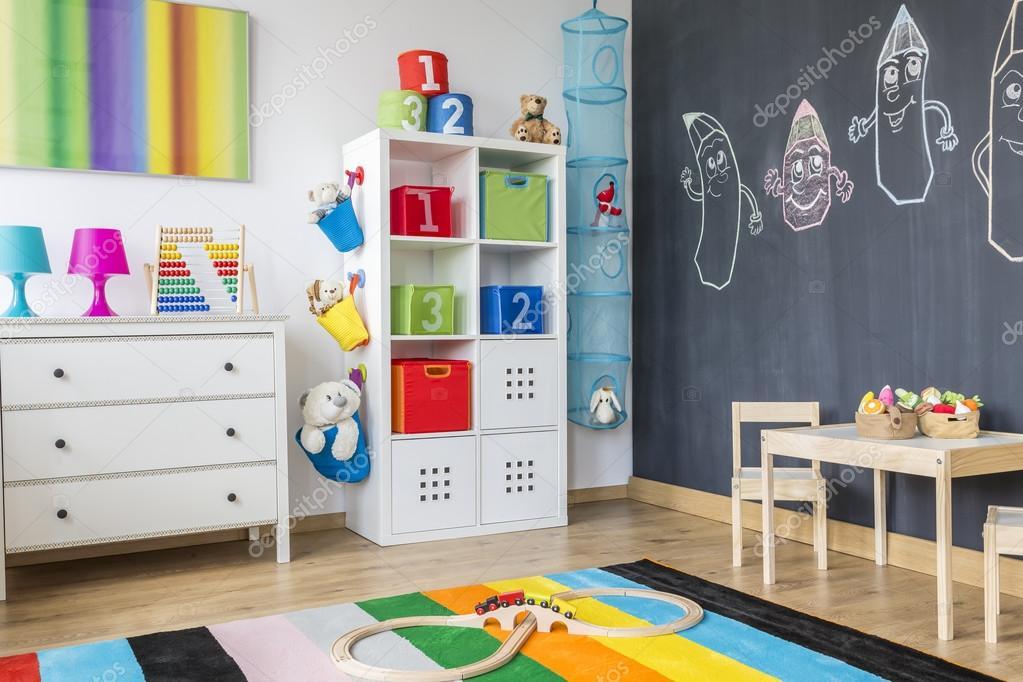 Chambre enfant coloré — Photographie photographee.eu © #128473014