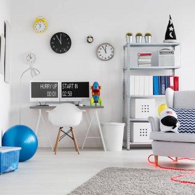 Space inspired room for children
