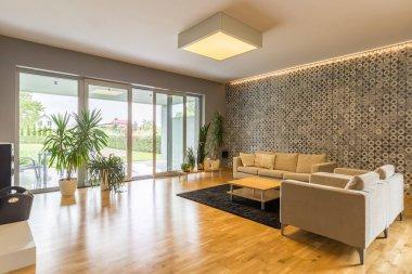 Big and spacious living room