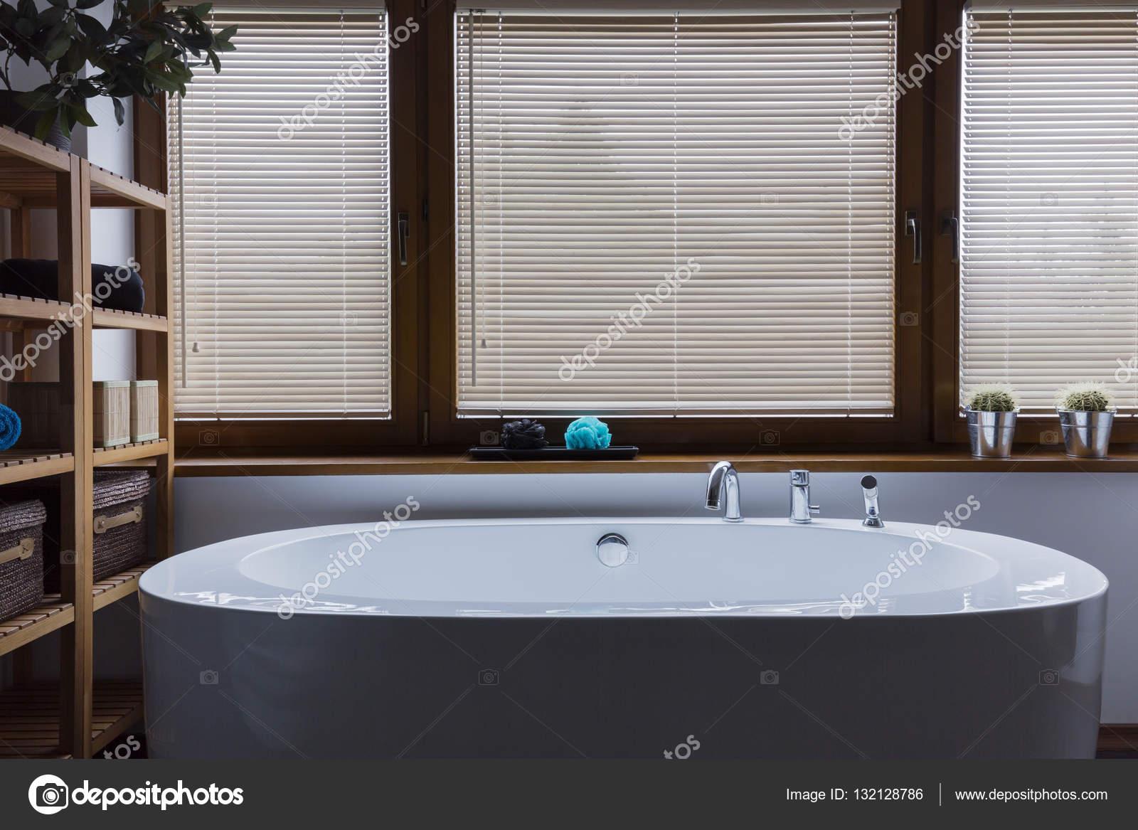 salle de bain dtente ombrag depuis les soucis de la journe photo