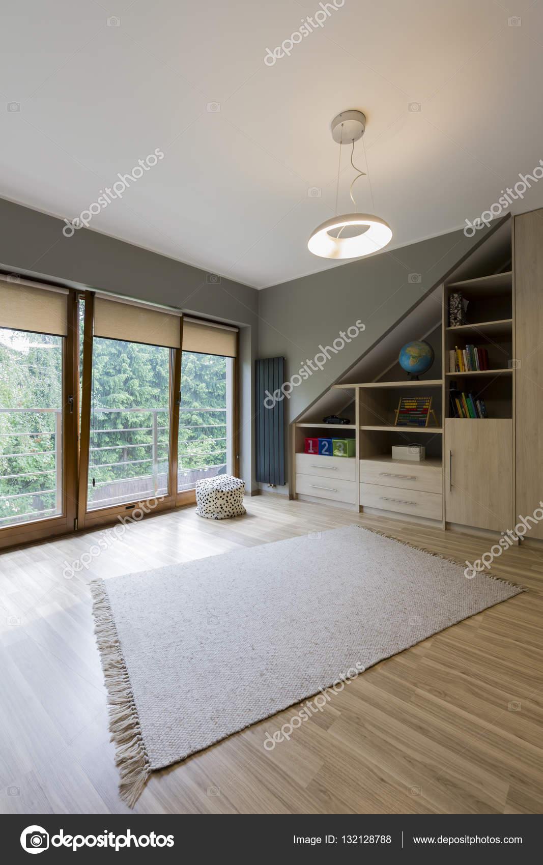 Naturfarben in Teenager diskrete Zimmer Dekor — Stockfoto ...