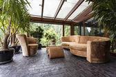Fotografie Pohodlný salonek v konzervatoři
