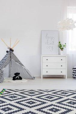 Child bedroom with dresser