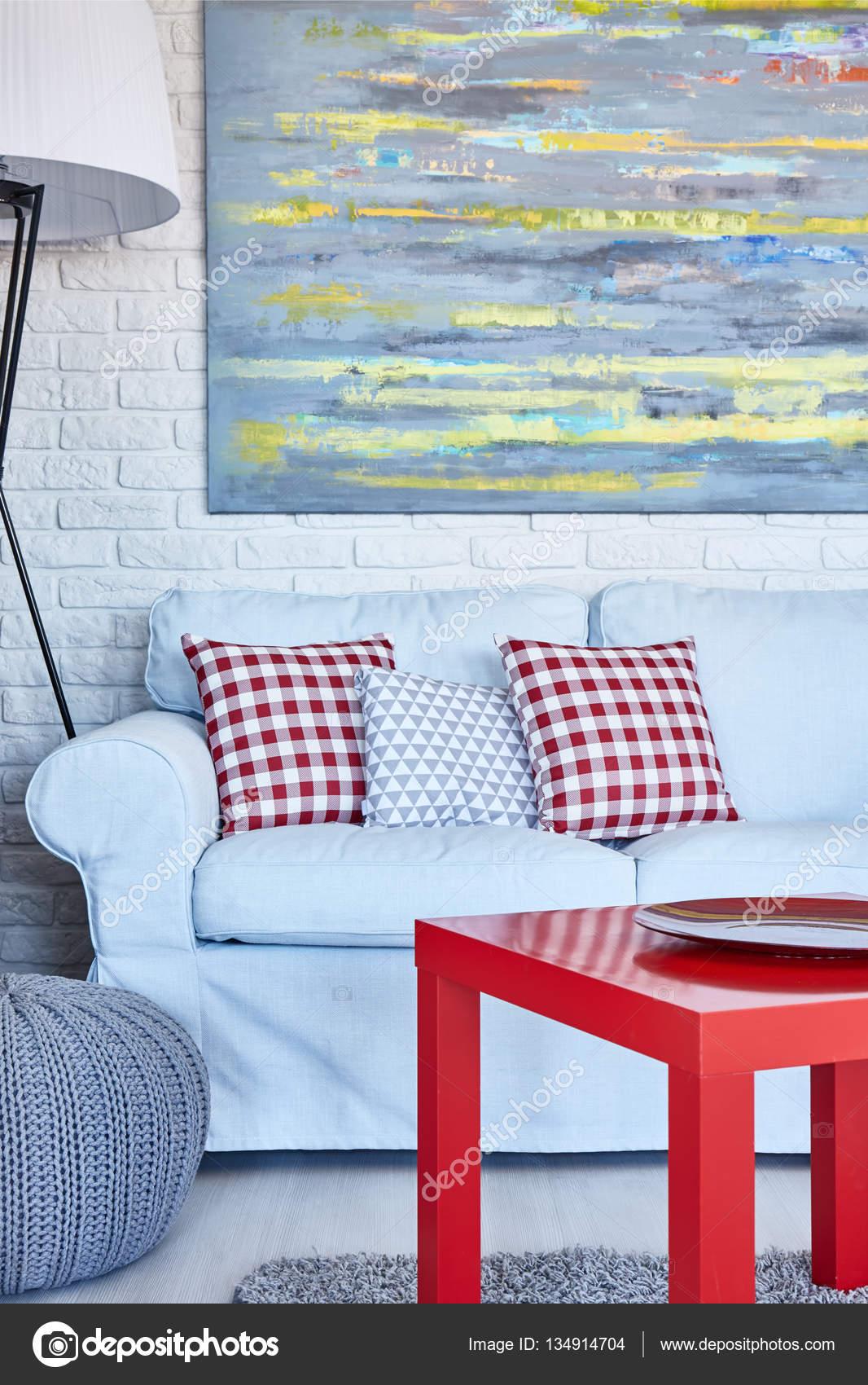 Salon Avec Canapé Table Et Peinture Photographie Photographeeeu