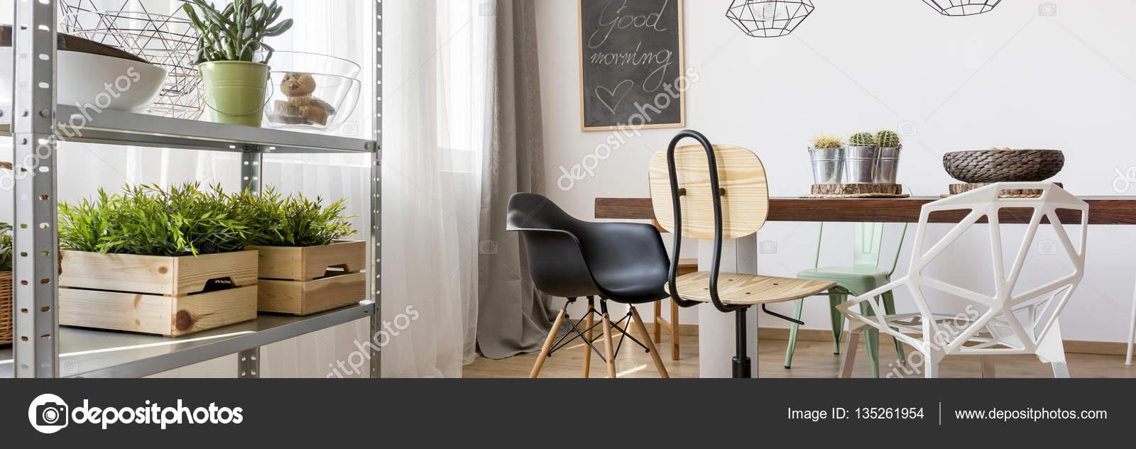arredamento sala da pranzo — Foto Stock © photographee.eu #135261954