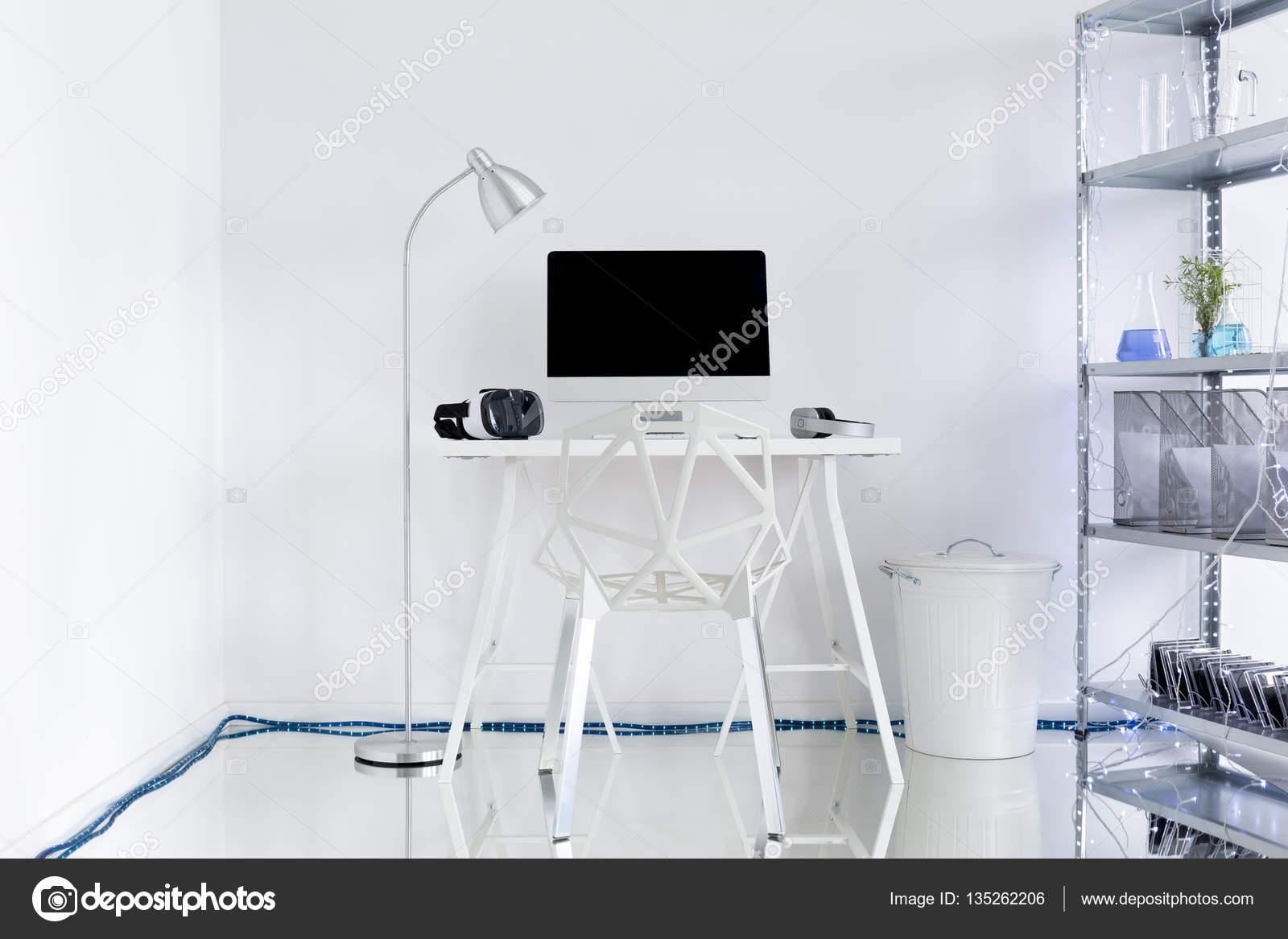 Espace bureau à la maison blanche tendance u photographie
