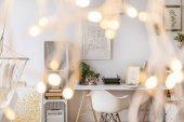 Photo Room with creative lighting