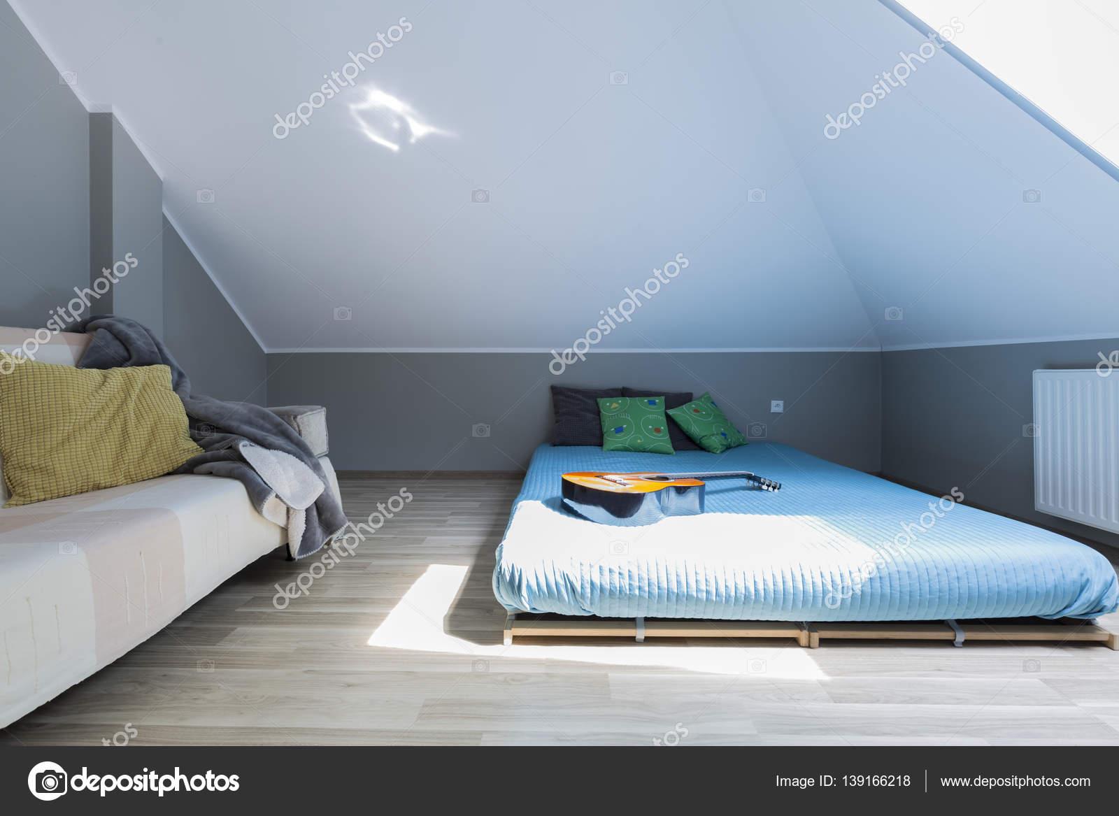 Genial Moderne Schlafzimmer Für Junge Musiker U2014 Stockfoto