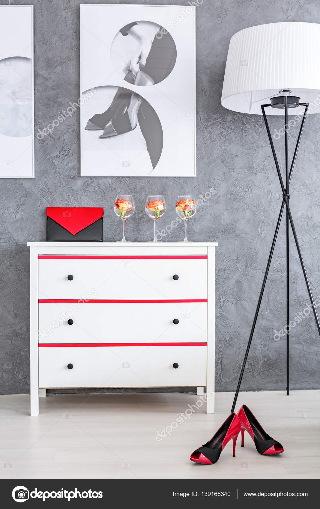Red and black bedroom accessories   Red and black ...