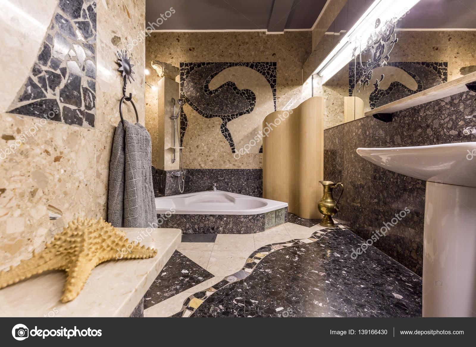 Mozaiek tegels badkamer karwei badkamer