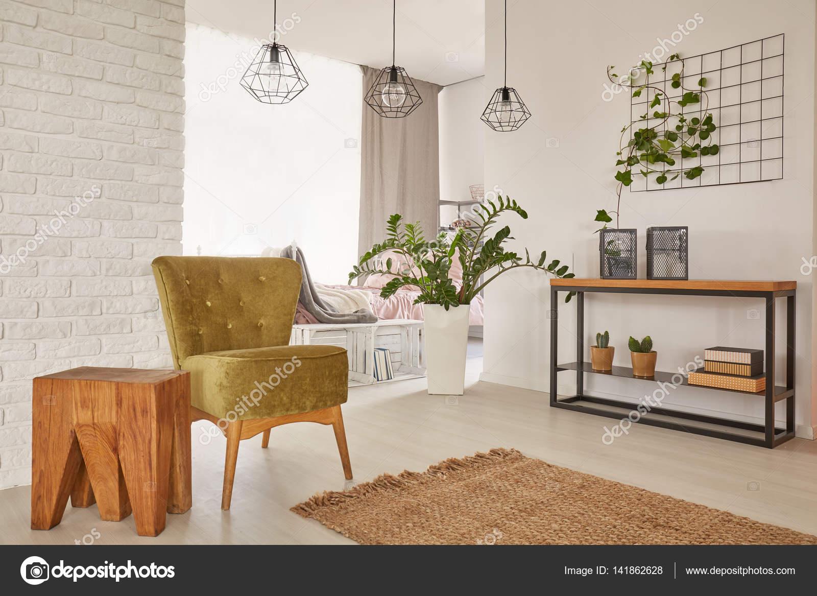 Wohnung Mit Erdigen Farben Konzipiert Stockfoto C Photographee Eu