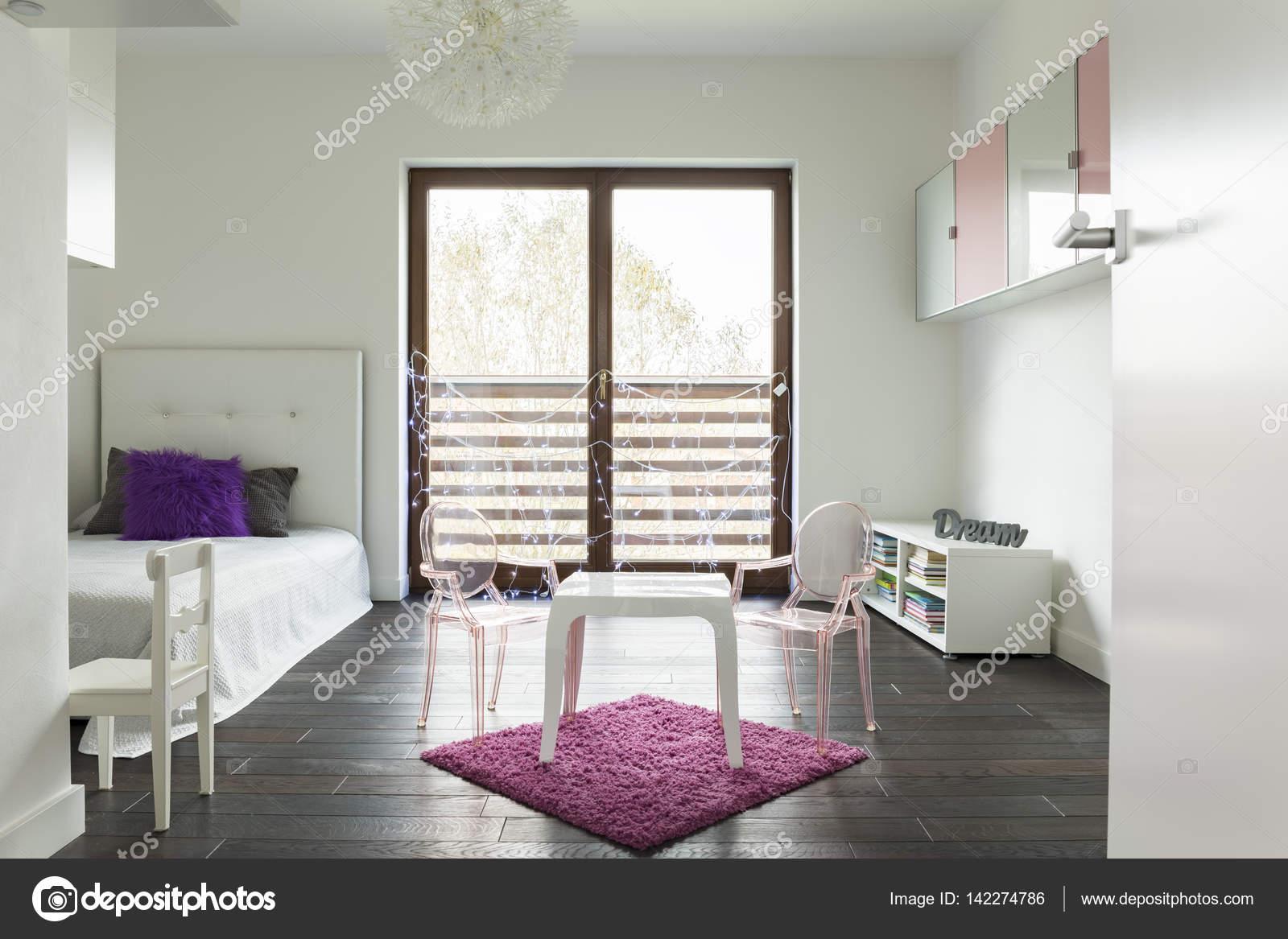 Blanc de victoire chambre princesse — Photographie photographee.eu ...