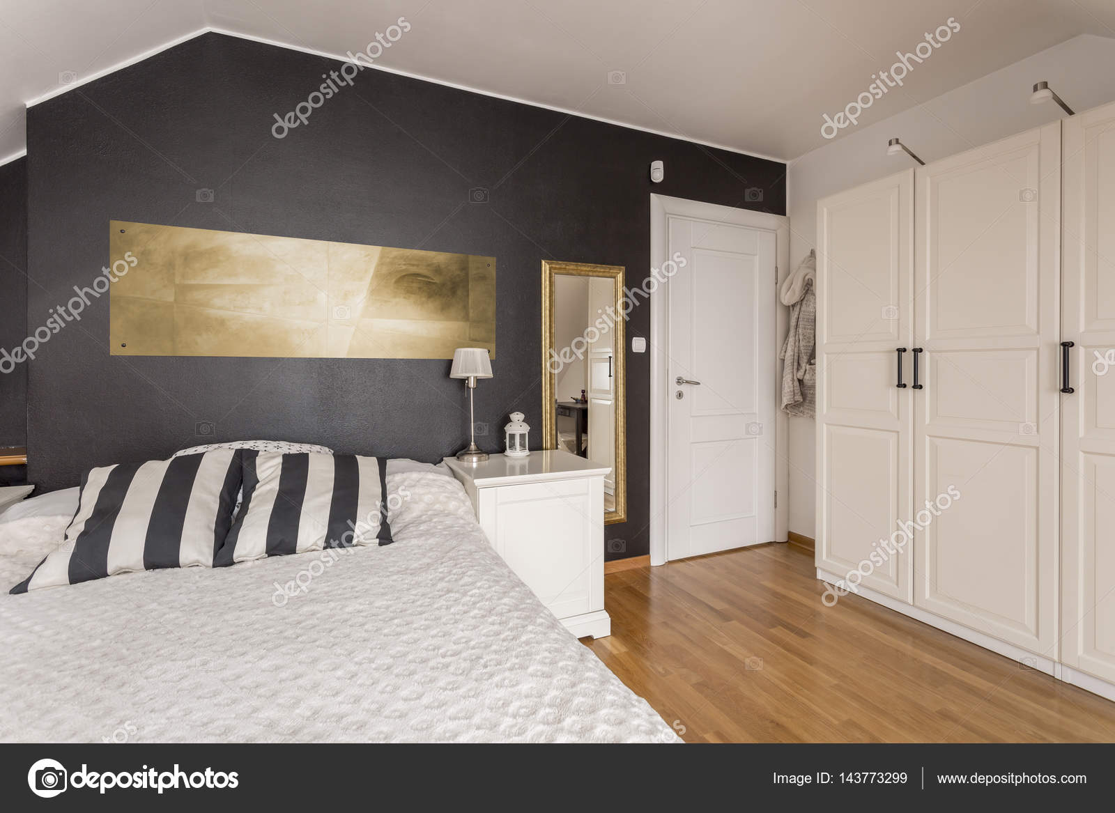Black and gold bedroom designs | Black and white bedroom ...