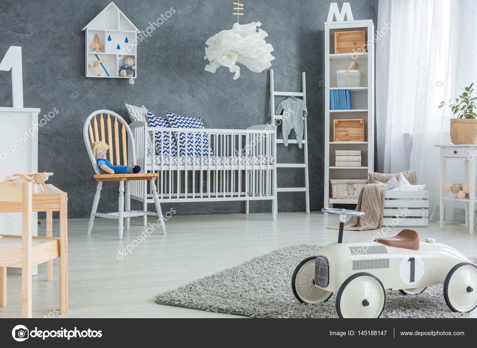 Jongen kamer met kinderbed u stockfoto photographee eu