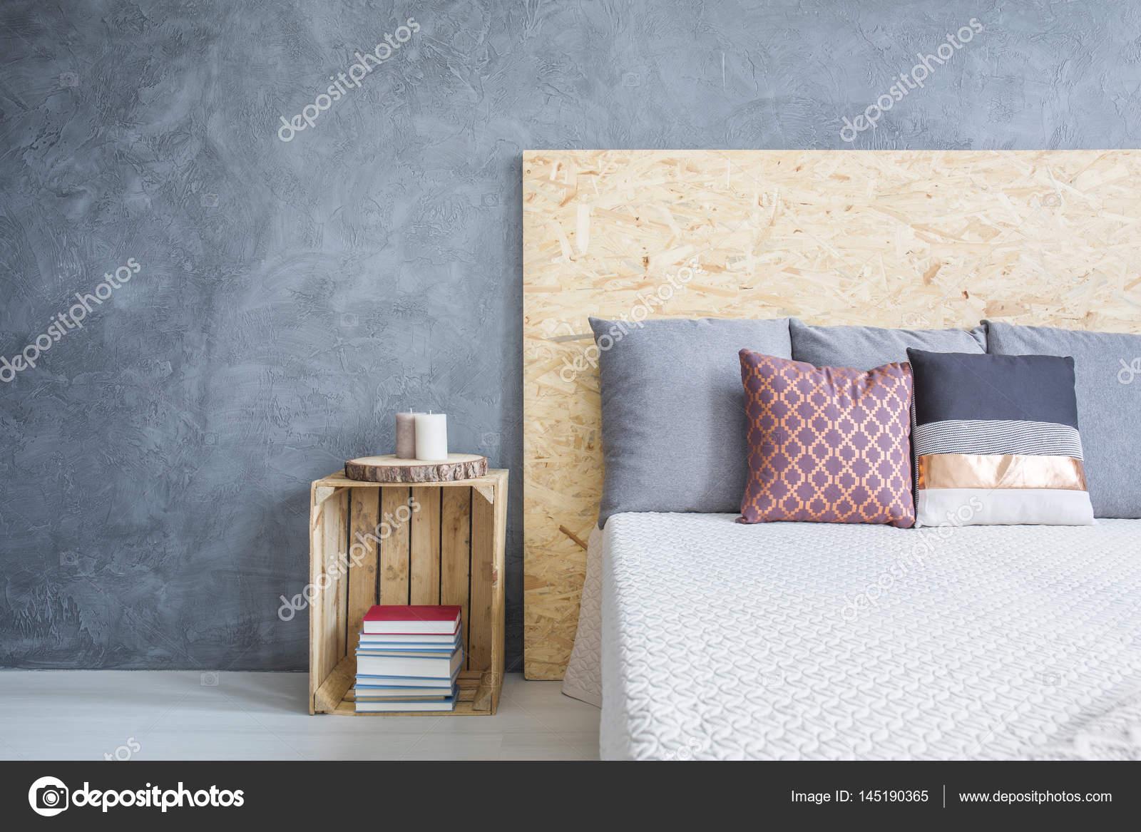 camera da letto con letto diy eco ? foto stock © photographee.eu ... - Camera Da Letto Diy