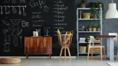 Keuken Open Hoek : Moderne open leefruimte met keuken stijgt linker hoek een