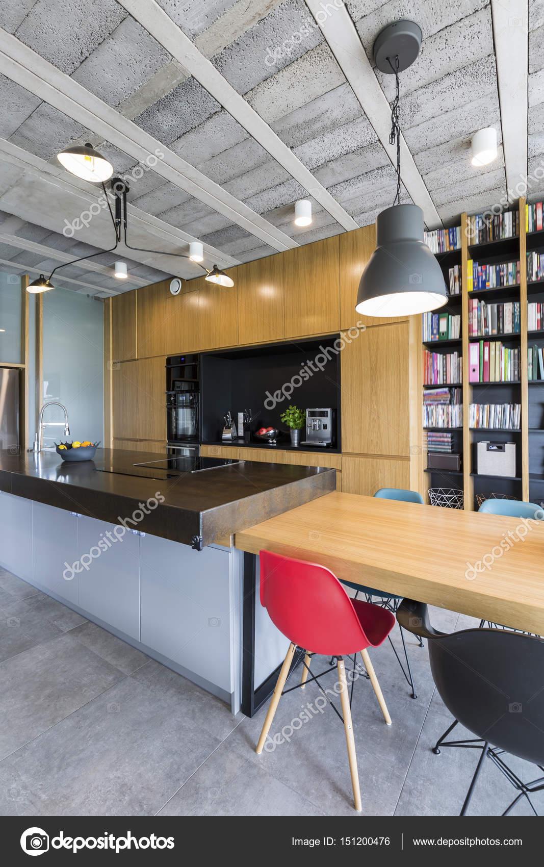 Moderna Cozinha Industrial Stock Photo Photographee Eu 151200476