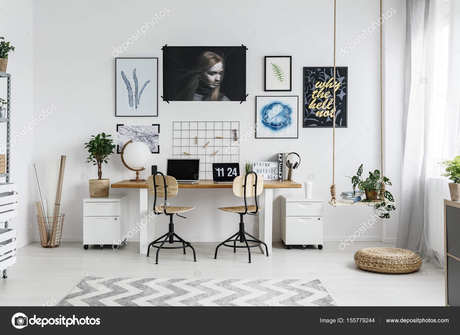 home-office-interieur — Stockfoto © photographee.eu #155779244