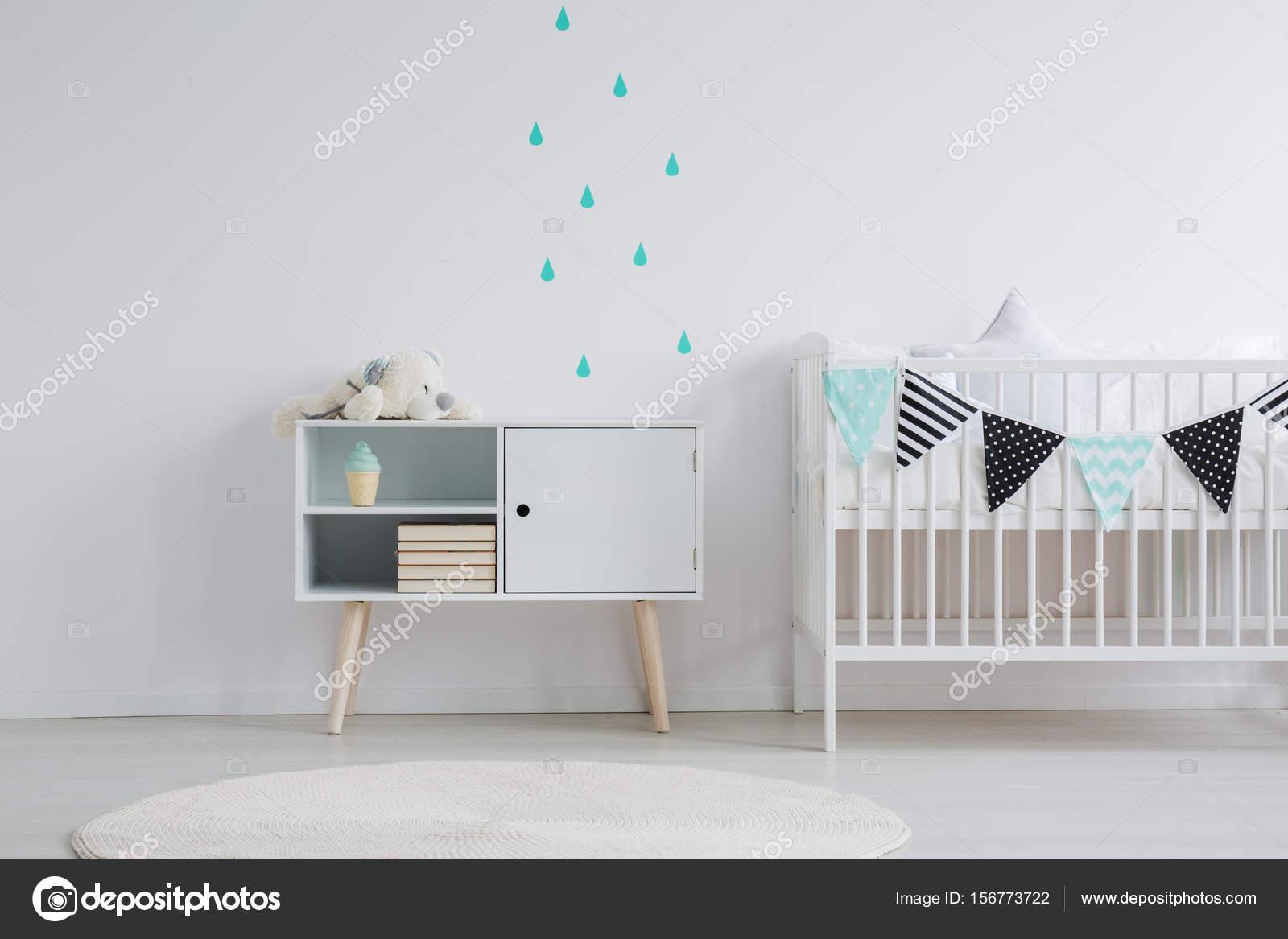 Baby Stickers Voor Op De Muur.Muur Stickers Op Baby Kamer Stockfoto C Photographee Eu