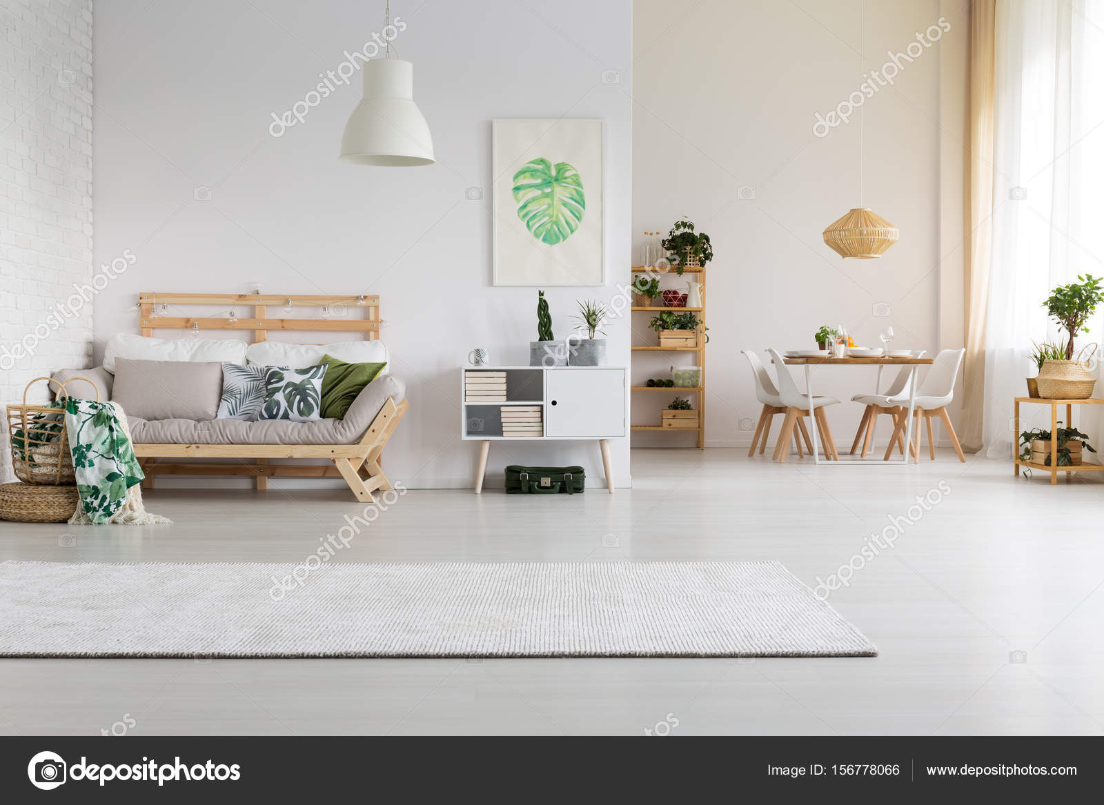Well Designed Home Space U2014 Stock Photo