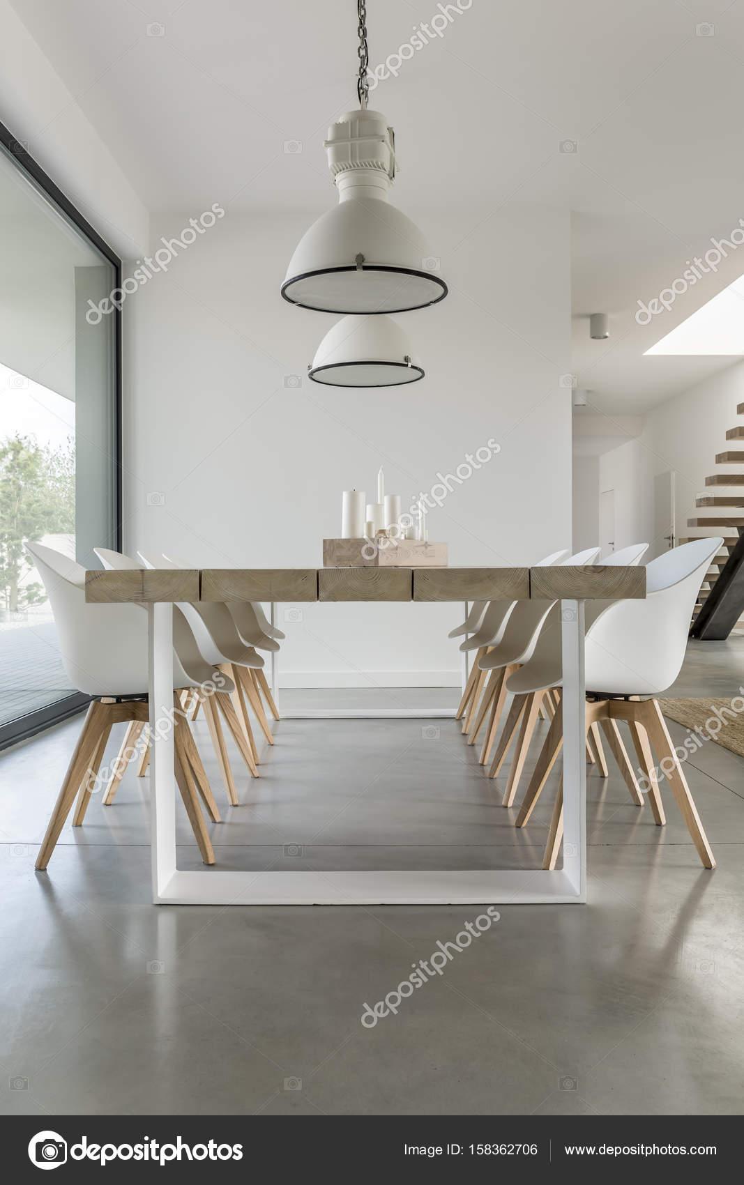 Zona comedor minimalista — Foto de stock © photographee.eu #158362706